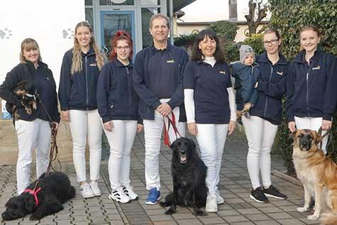 Das Team der Tierarztpraxis Vettermann
