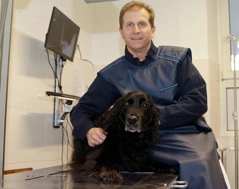 Michael Vettermann im Röntgenraum