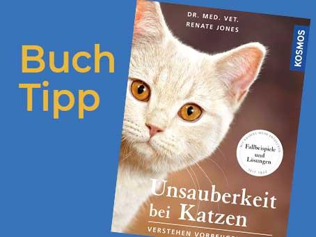 Buchtipp: Unsauberkeit bei Katzen