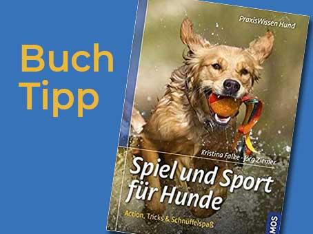 Buchtipp: Spiel und Sport für Hunde